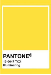 Pantone Illuminating 2021